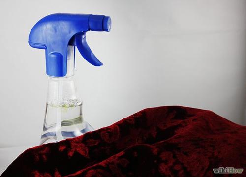 Làm sạch bụi bẩn trên vải nhung