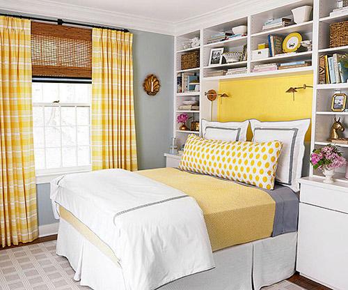 Cải tạo phòng ngủ tông vàng nữ tính - 2