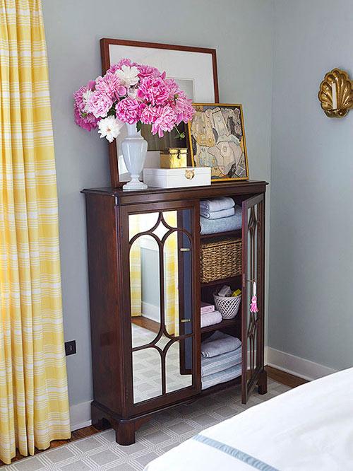Cải tạo phòng ngủ tông vàng nữ tính - 5