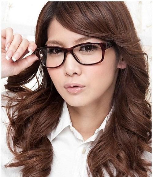 Những kiểu tóc đẹp cho cô nàng đeo kính - 2