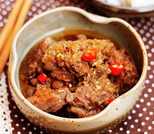 Cách nấu món vịt kho sả