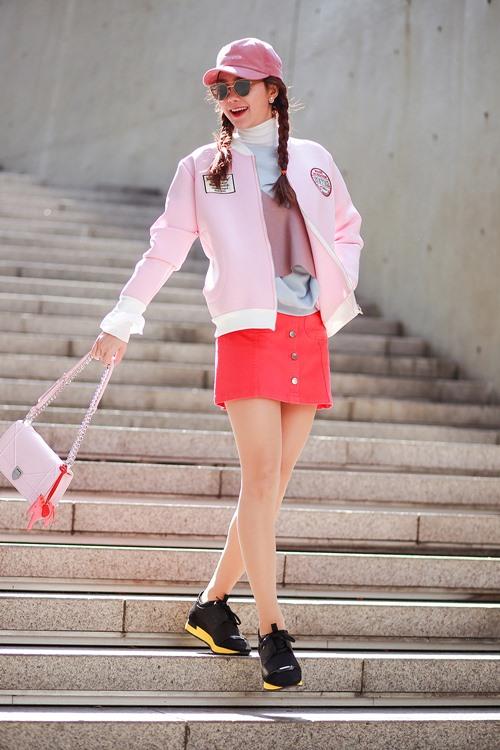 street style day mau sac cua minh hang tai han quoc - 1