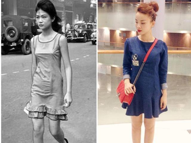 xu hướng thời trang việt xưa và nay