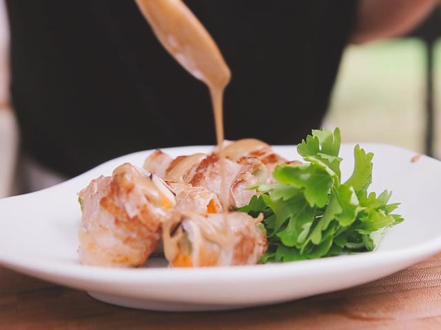 Thịt ba chỉ cuộn rau củ ngon cơm - 6
