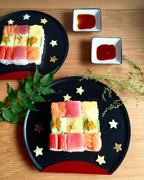Từ sushi miếng, người Nhật chuyển sang mê mẩn sushi ghép hình - 10