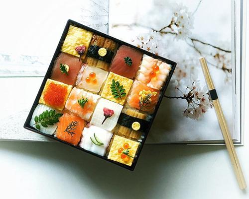 Từ sushi miếng, người Nhật chuyển sang mê mẩn sushi ghép hình - 2