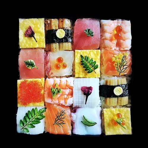 Từ sushi miếng, người Nhật chuyển sang mê mẩn sushi ghép hình - 4