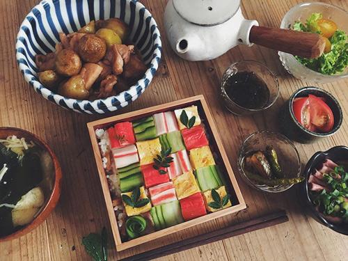 Từ sushi miếng, người Nhật chuyển sang mê mẩn sushi ghép hình - 8