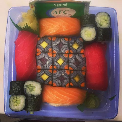 Từ sushi miếng, người Nhật chuyển sang mê mẩn sushi ghép hình - 9