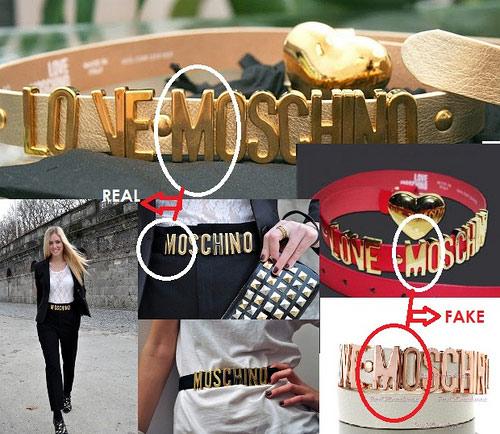 Đừng để thắt lưng Moschino rởm bóp cổ và móc túi