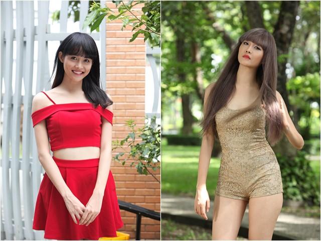 Siêu mẫu Châu Á Trương Mỹ Nhân khoe thân hình bốc lửa khi vào vai thiếu nữ sống ảo