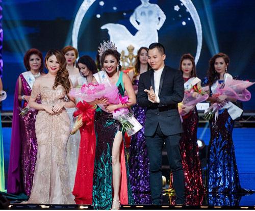 vu khac tiep gay chu y tai ms vietnam beauty international pegeant - 9