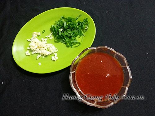 cách làm trứng xào chua ngọt   Món Miền Trung