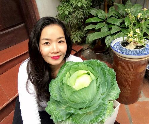 Chồng ngộ độc vì ăn rau sạch siêu thị 8x xinh đẹp hà nội quyết tâm tự trồng rau tại nhà - 1