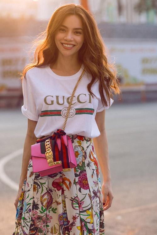 Sững sờ khi biết giá những chiếc áo phông yêu thích của lý nhã kỳ thanh hằng - 3
