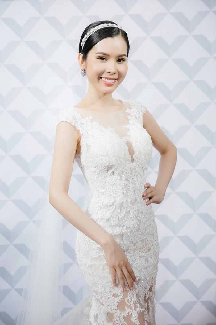 Huỳnh vy hóa cô dâu xinh đẹp với xu hướng váy cưới hot nhất