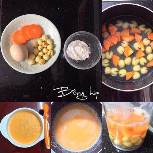 Mách mẹ cách nấu 7 món cháo tăng cân cho bé còi - 3
