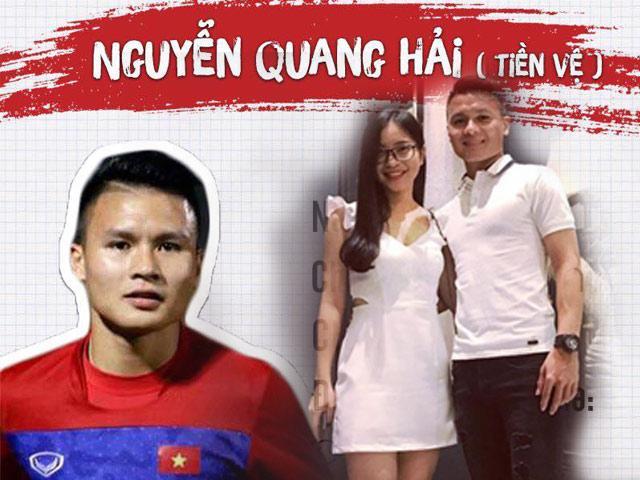 Người hùng của U23 Việt Nam Quang Hải ngoài đời siêng mặc đồ đôi cực chất cùng bạn gái