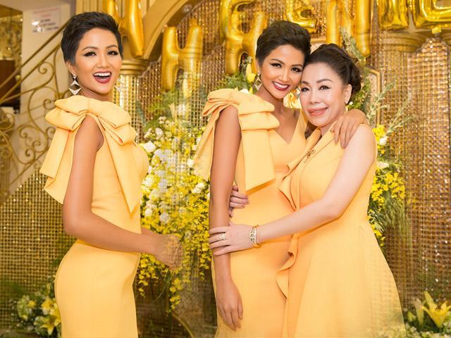 Đầu năm 2019: HHen Niê tri ân mẹ Linh San và những người thợ về chiếc váy lịch sử