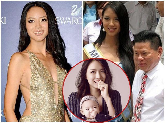 Từng kè kè bên tỷ phú Hoàng Kiều, Hoa hậu đình đám giờ làm mẹ một con siêu nóng bỏng