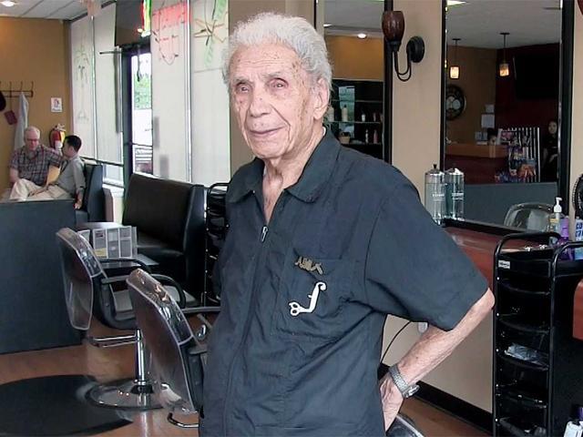 Bí quyết trường thọ của nhà tạo mẫu tóc có gần 100 năm hành nghề