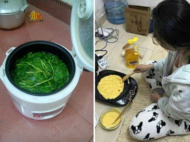 Tuyệt chiêu nấu cơm sinh viên bá đạo, dân tình thốt lên: Học làm gì, đi làm bếp trưởng ngay