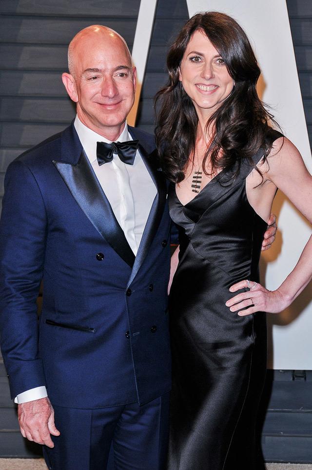 Tỷ phú giàu nhất thế giới, CEO Amazon, Jeff Bezos li dị, MacKenzie