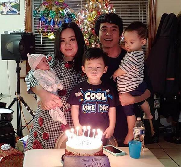 "3 nam bau bi, sinh no son son 3 con, ""be xuan mai"" ngay cang phat tuong trong thay - 14"