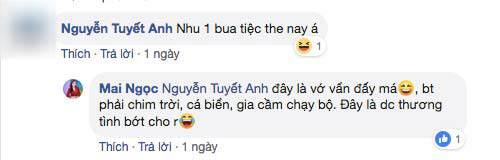 """khoe com nau cho chong, bi soi mon """"than duoc quy ong"""", btv thoi su mai ngoc dap bat ngo - 5"""