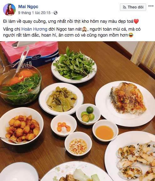 """khoe com nau cho chong, bi soi mon """"than duoc quy ong"""", btv thoi su mai ngoc dap bat ngo - 2"""
