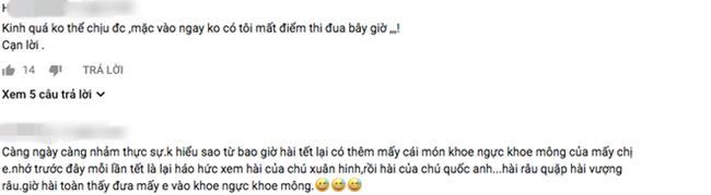 """hai tet lo lang: chan dai bi xe ao, hot girl mac noi y khoe vong 1 """"ngon ngon"""" - 4"""