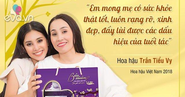 Tết này, Hoa hậu Tiểu Vy tặng quà gì cho mẹ?