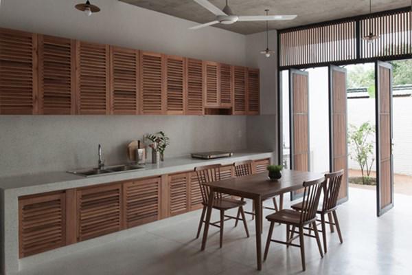 Biệt thự mái ngói ở TP.HCM gợi ý kiến trúc mới mẻ cho những căn nhà phố - 15