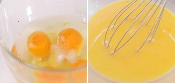 Khuấy tan lòng đỏ trứng gà - 2