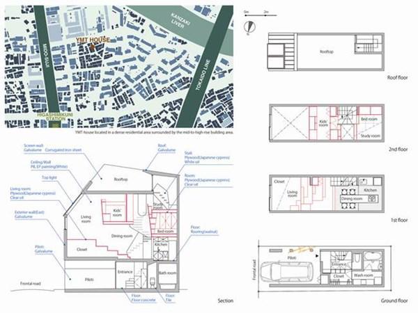 Nhà nhỏ 44m2 với 6 phòng tiện nghi gây amp;#34;choángamp;#34; - 4