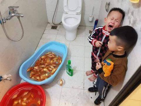 """me """"khoi nghiep"""" buon ca vang cung tao, con thuong me tam ca va cai ket cuoi ra nuoc mat - 4"""