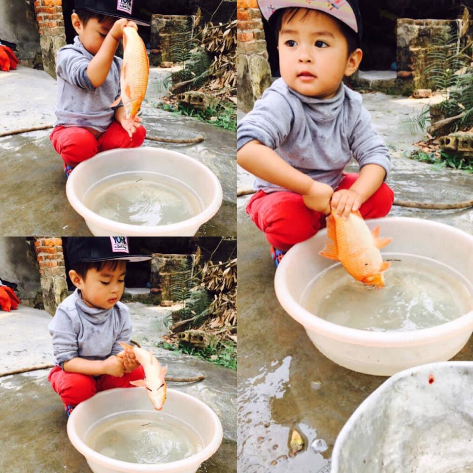 """me """"khoi nghiep"""" buon ca vang cung tao, con thuong me tam ca va cai ket cuoi ra nuoc mat - 5"""
