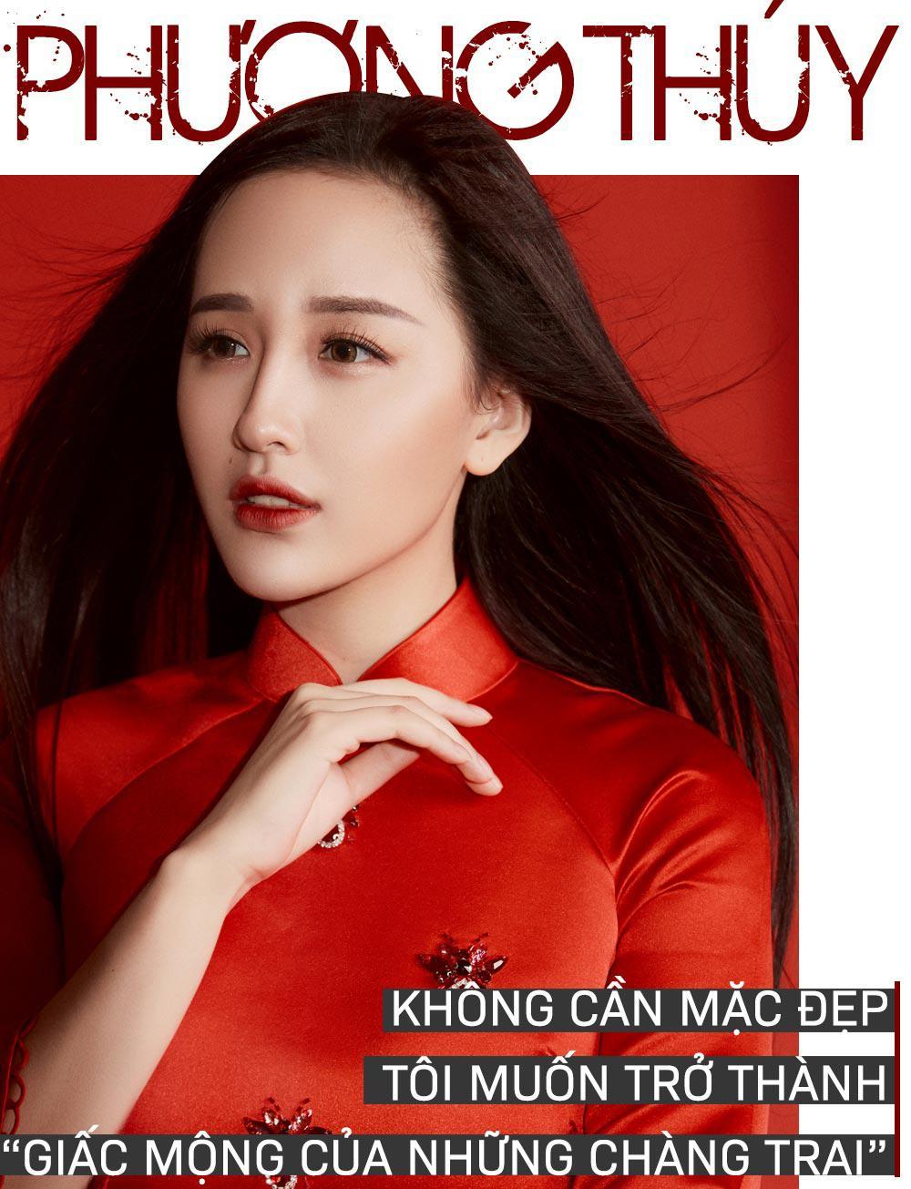 "mai phuong thuy: khong can mac dep, toi muon tro thanh ""giac mong cua nhung chang trai"" - 2"