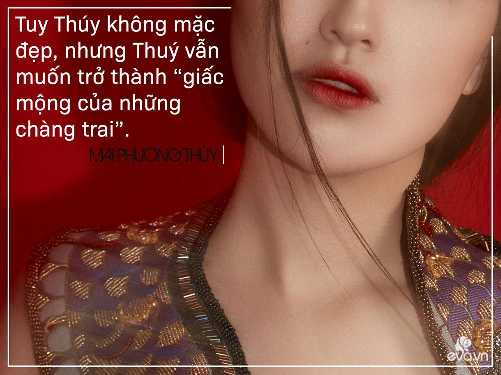 "mai phuong thuy: khong can mac dep, toi muon tro thanh ""giac mong cua nhung chang trai"" - 6"
