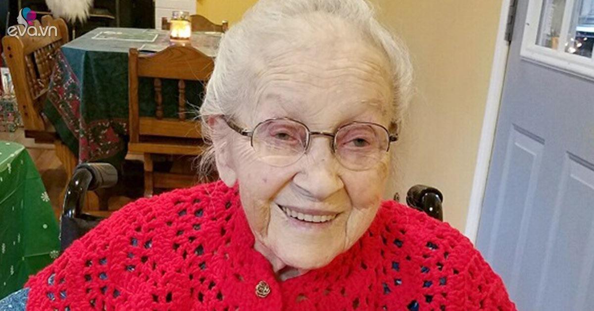 Cụ bà 103 tuổi tiết lộ bí quyết trường thọ đơn giản nhờ một món ăn ít ai ngờ tới