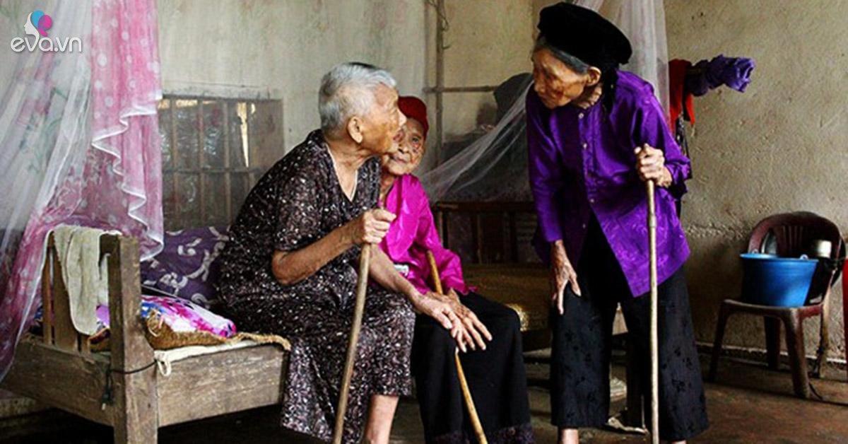 Bí quyết sống thọ của ba chị em ruột hơn trăm tuổi ở Nghệ An