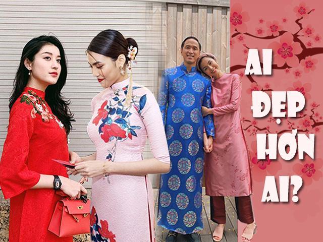 Lan Khuê, Huyền My, Hà Tăng, ai mới là người diện áo dài đẹp nhất Tết Kỷ Hợi?