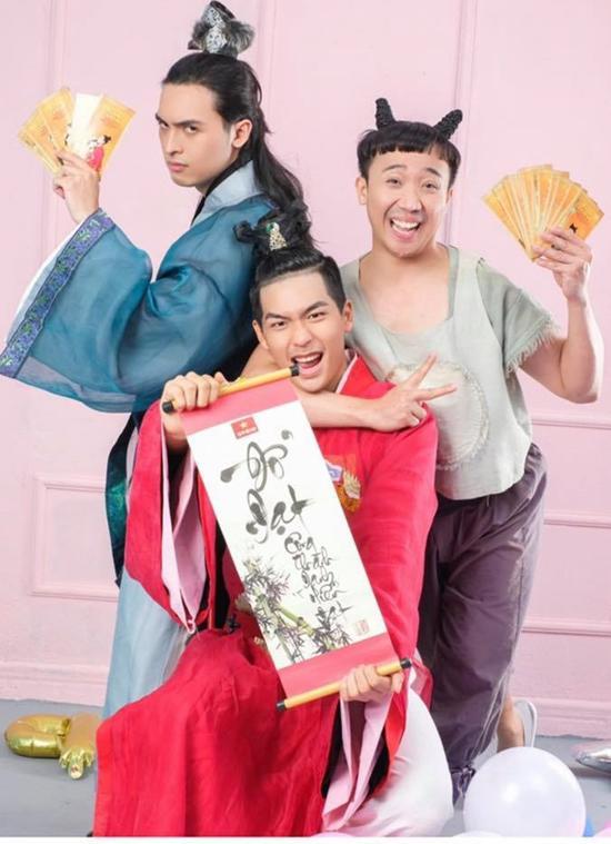 "ban cham vo de con tho van vuong scandal choi xau, duc thinh cam than: ""nghe si ngay tho"" - 4"