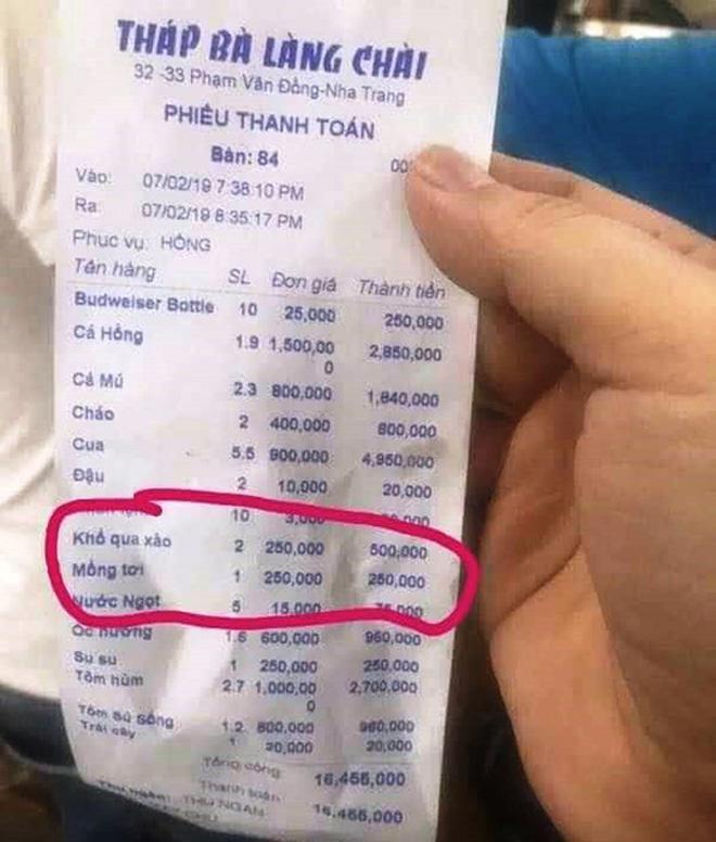 Khổ qua xào giá 250.000 đồng/đĩa tiếp tục gây 'bão' ở Nha Trang