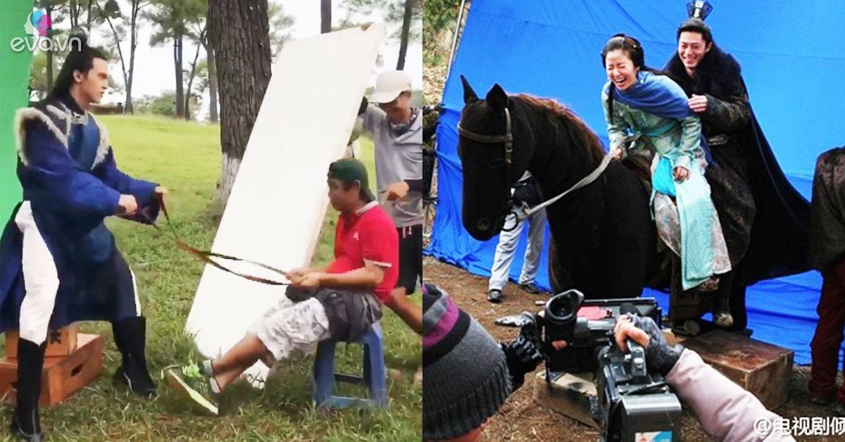"""Hậu trường """"ảo tung chảo"""" trong phim 70 tỷ của Nhã Phương: Cưỡi ngựa... gỗ y như Trung Quốc"""