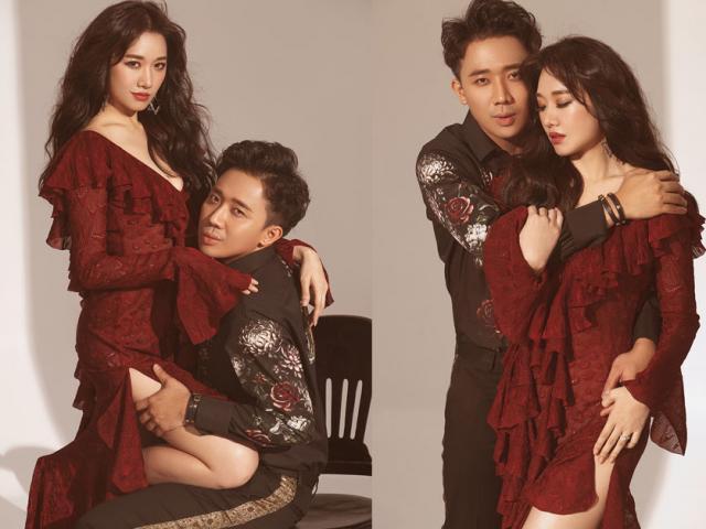 Bộ ảnh độc thân thì không nên xem của Trấn Thành - Hari Won gây sốt ngày Valentine