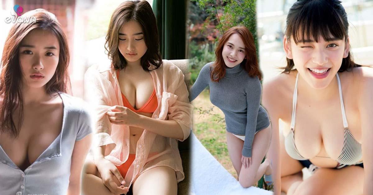 """Mặt học sinh dáng phụ huynh, """"thánh nữ"""" Nhật Bản có vòng ngực khiến ai nhìn cũng chao đảo"""
