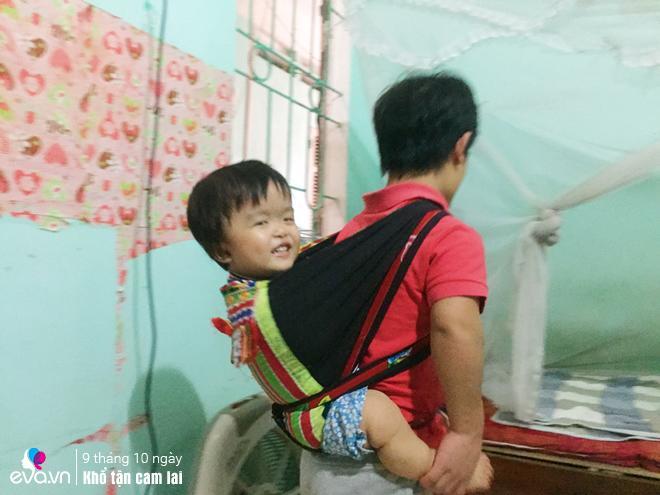 """vo tre hung yen chi cao 1m sinh con lanh lan, chong """"ti hon"""" cho ngoai phong de tho phao - 6"""