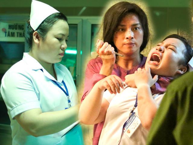 Đong mu - Y tá nói tiếng Anh giọng Bến Tre kỳ quái trong phim Ngô Thanh Vân là ai?