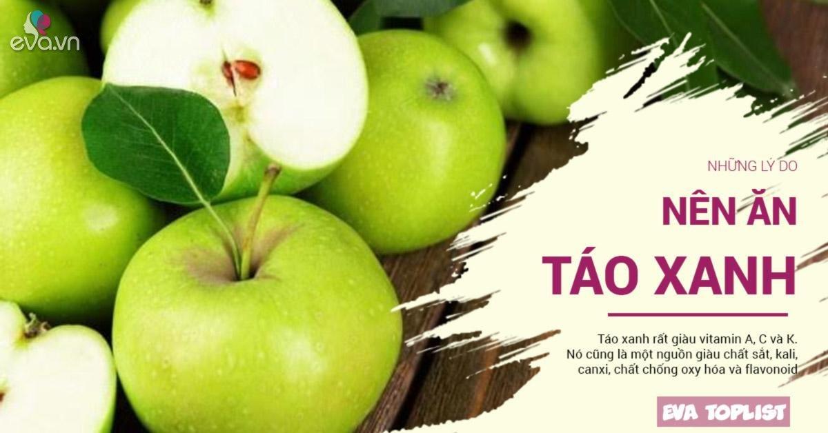 """Ăn táo đã tốt, nhưng táo xanh mới là """"cực phẩm"""" bởi những lý do sau"""